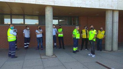 Sindicatos cifran en un 80% el seguimiento de la huelga de ambulancias en C-LM