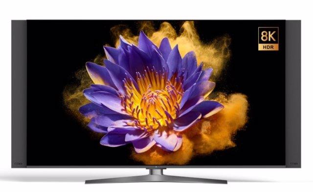Xiaomi presenta su primer televisor 8K y 5G, el  Mi TV Master Extreme de 82 pulg