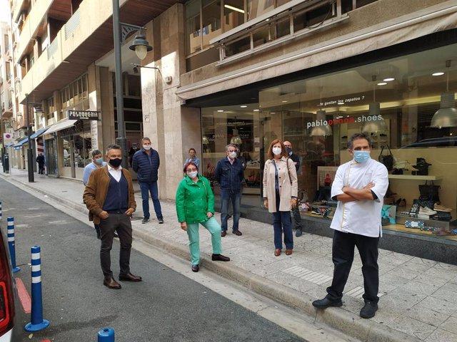 PP presentará una moción para configurar la calle República Argentina de Logroño