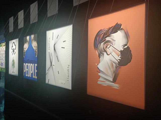 La exposición 'Coronacrisis y cultura', en el Centre Cultural La Nau de la Universitat de València