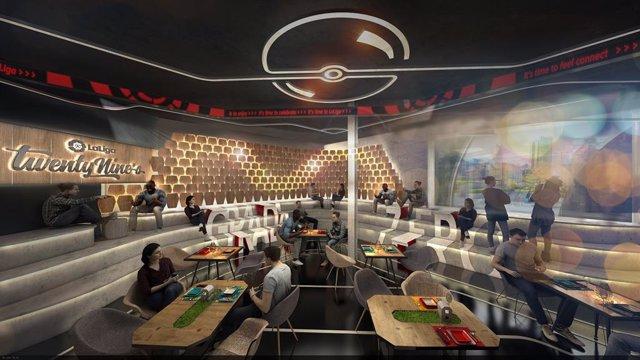 Fútbol.- Nace LaLiga TwentyNine's, un nuevo concepto de sports bar pararevolucio