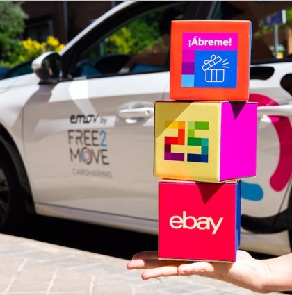 eBay se une a Emov by Free2Move para celebrar una edición muy especial de sus eBay Days