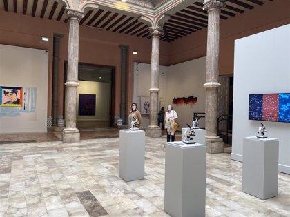La DPZ prorroga hasta octubre la exposición sobre el Premio de Arte 'Santa Isabel', que ya tiene 8.500 visitas