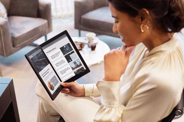 Lenovo lanza el primer PC con pantalla plegable, ThinkPad X1 Fold