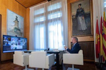 Azcón pide una reunión de la Comisión Nacional de Administración Local sobre el fondo a los ayuntamientos