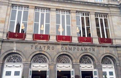 El Teatro Campoamor de Oviedo, entre el centenar de edificios y monumentos que se iluminarán de verde por la artritis