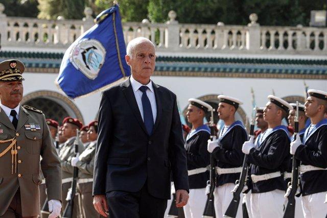 Túnez.- El presidente de Túnez pide que se aplique la pena de muerte ante el aum