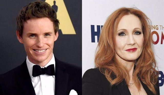 Eddie Redmayne mandó una carta de apoyo a J.K. Rowling tras ser insultada en redes sociales
