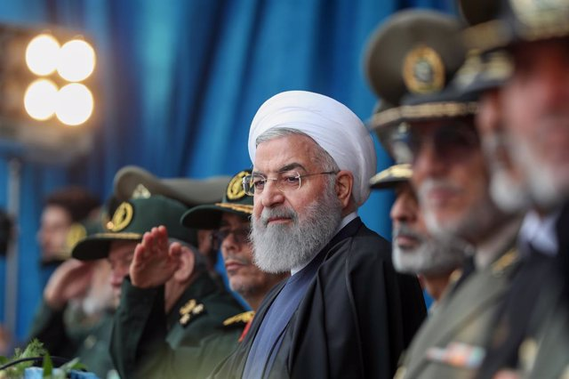 Irán.- Las fuerzas de Irán derriban un dron que irrumpió en su espacio aéreo en