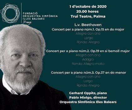 La Sinfónica de Baleares arranca la temporada con Beethoven