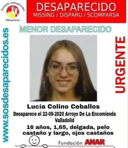 Buscan a una joven de 16 años desaparecida en Arroyo (Valladolid) desde hace una semana