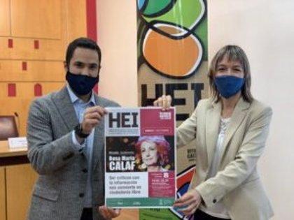 La periodista Rosa María Calaf abre el 8 de octubre en Vitoria la programación de la Escuela Abierta de la Ciudadanía