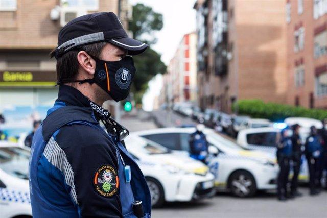 Imagen de recurso de un Policía Municipal de Madrid.