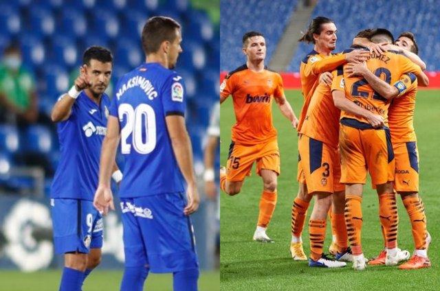 Getafe y Valencia arrancan la jornada 4 con victoria