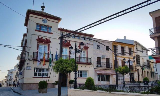 Fachada del Ayuntamiento de Casariche (Sevilla)