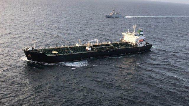 Imagen de archivo de un petrolero iraní.