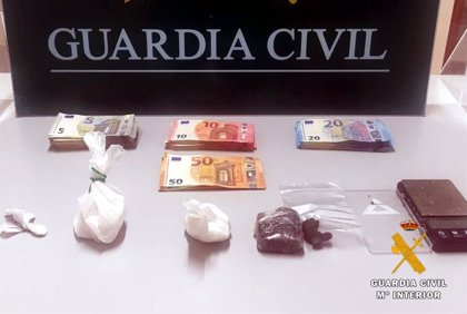Detenido por distribuir droga en un bar de Bárcena de Pié de Concha