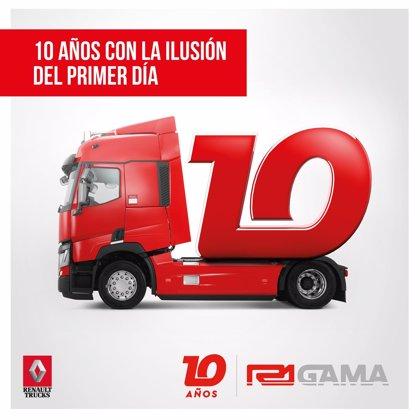 R1 Gama, con un 19% del mercado, celebra los diez años consolidada como mayor concesionario Renault Trucks del país