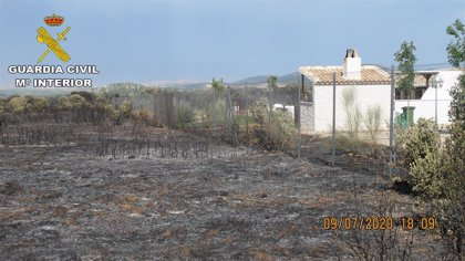 Declaran como investigados tres hombres que provocaron un incendio al hacer una barbacoa en Madridejos