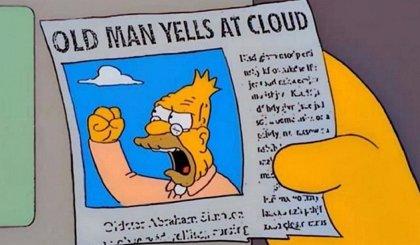 El meme de Los Simpson que resume el debate entre Donald Trump y Joe Biden