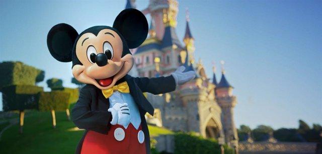 Mickey Mouse en Disneyland Paris