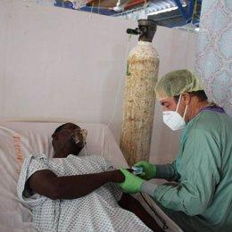 Banco Santander colabora con la Fundación NPH comprando material de protección para luchar contra el Covid en Haití