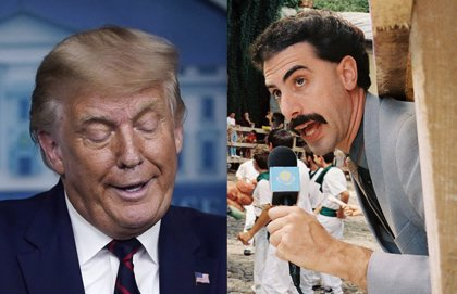 Borat 2 ensalza a Trump en el tráiler de la secuela, que se estrenará en Amazon antes de las elecciones