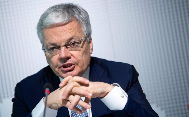 El comissari de Justícia de la Unió Europea (UE), Didier Reynders