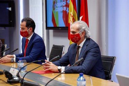 """Madrid pide """"criterios objetivos y claros para todas las CCAA"""" y """"que no se ciñan a los tres indicadores"""" del Ministerio"""