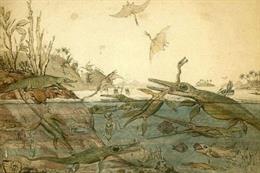 Así se repartían el botín los dragones marinos del Mesozoico