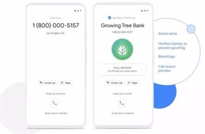 Teléfono de Google se prepara para anunciar en voz alta el nombre de quien está llamando