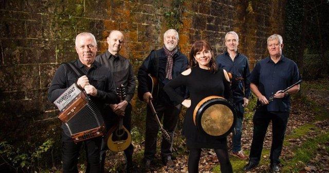 La banda irlandesa Dervish.
