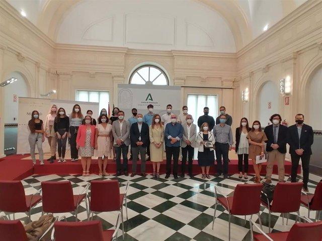 Acto de entrega del primer premio de interpretación de música antigua