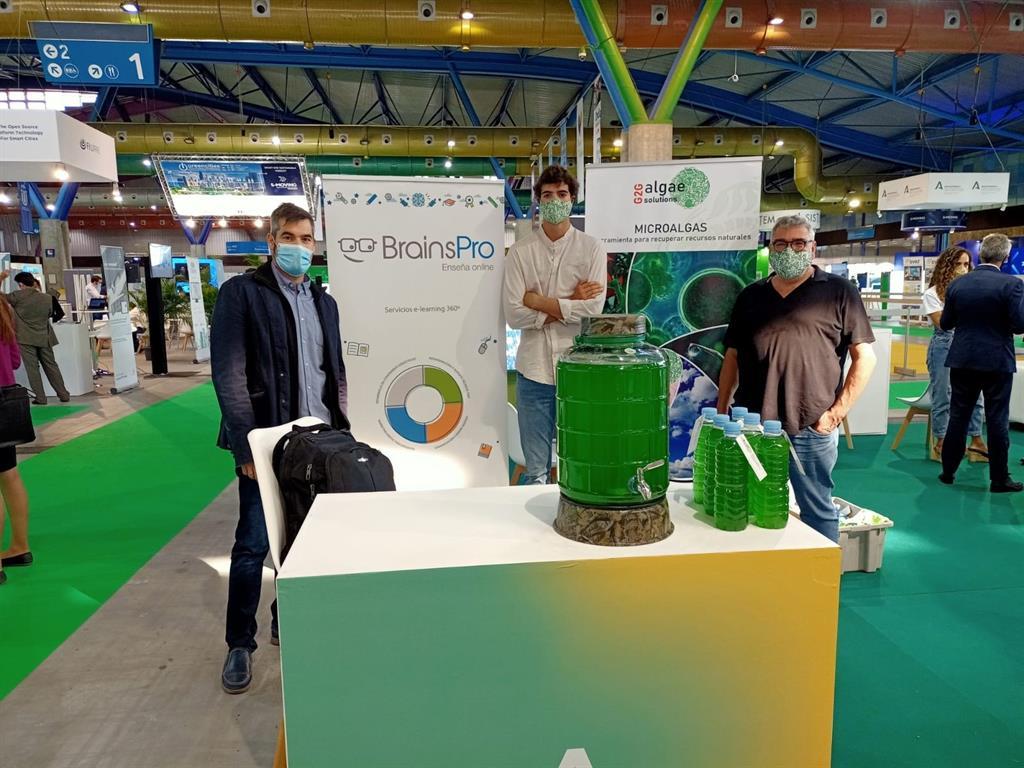 El Programa Minerva muestra en el foro Greencities de Málaga soluciones innovadoras de sus 'startups' 3