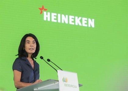 """Heineken se reivindica como """"primera cervecera española"""" cuya producción será sólo con electricidad """"100% renovable"""""""