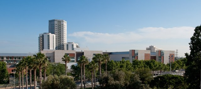 L'Hospital Universitari de Bellvitge (Barcelona), en una imatge d'arxiu.