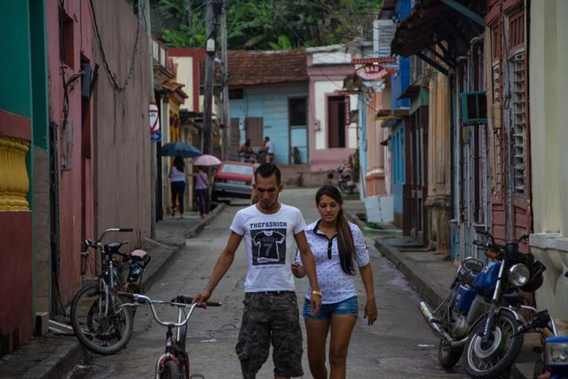 Imagen de archivo de una calle de Cuba.