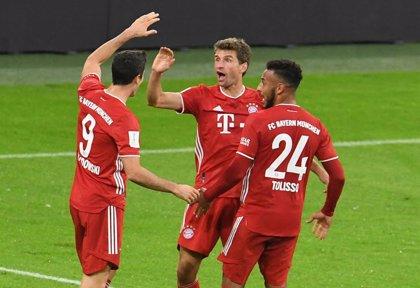 El Bayern conquista la Supercopa ante el Dortmund y sigue camino del sextete