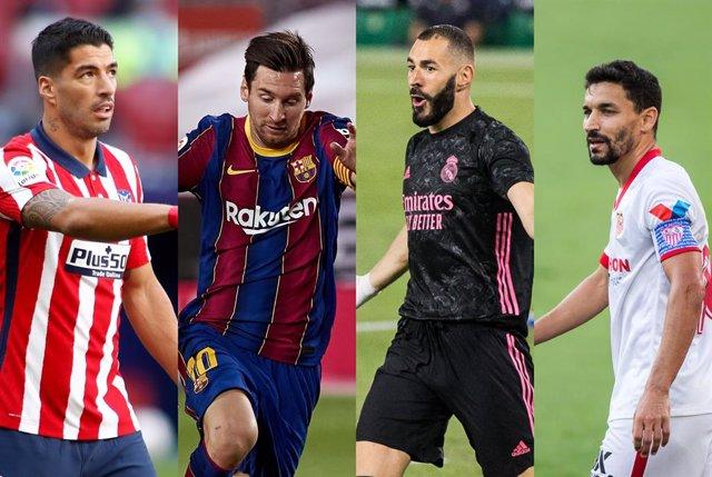 Fútbol/Champions.- Real Madrid, Barça, Atlético y Sevilla conocen su primer cami