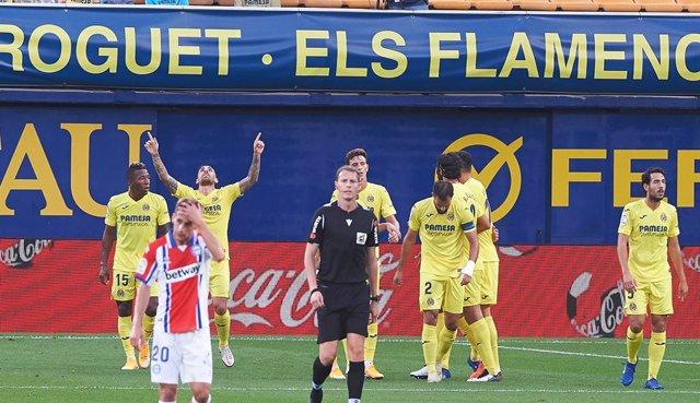 AMPL.- Fútbol/Primera.- (Crónica) El Villarreal olvida el Camp Nou con ante el A