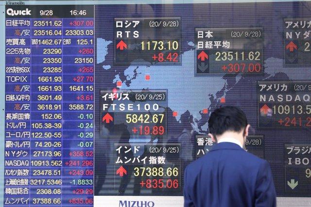 Japón.- La Bolsa de Tokio interrumpe sus operaciones durante todo un día por un