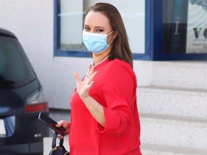 Shaila Dúrcal, feliz en Madrid, retoma sus compromisos profesionales