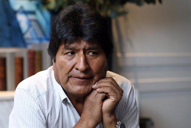 L'expresident de Bolívia, Evo Morales.