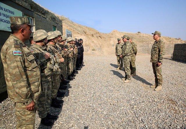 Exèrcit de l'Azerbaidjan.