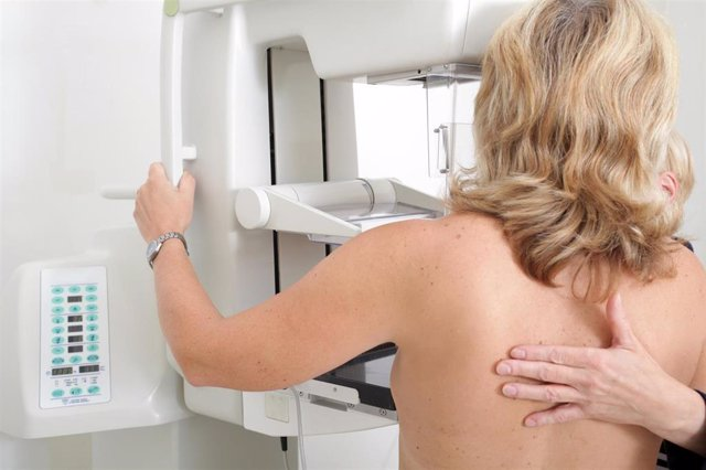Imagen de recurso de una mamografía.