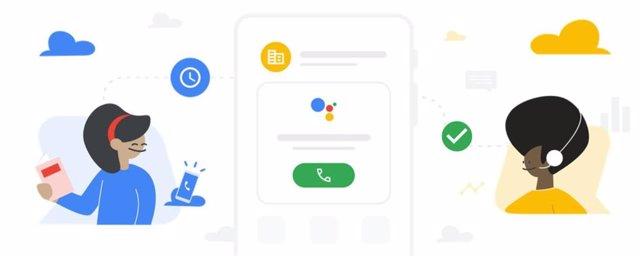El Asistente de Google notifica a los usuarios cuando termina una llamada en esp