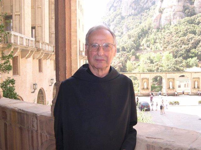 El monjo i historiador Hilari Raguer i Suñer