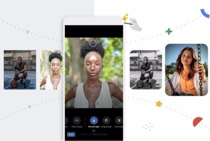 Google Fotos recibe un nuevo editor de imágenes con iluminación de retrato