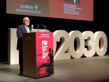 """La Estrategia Digital Navarra 2030 persigue ofrecer servicios """"100% digitales"""" a toda la población"""