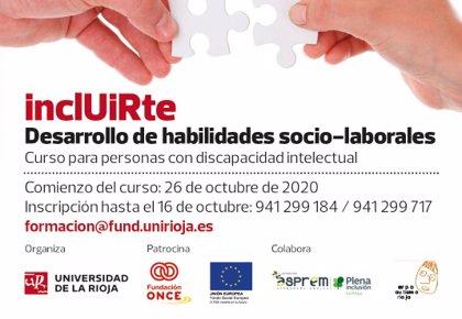 El II Curso de Habilidades Socio-Laborales vuelve a abrir la UR a las personas con discapacidad intelectual